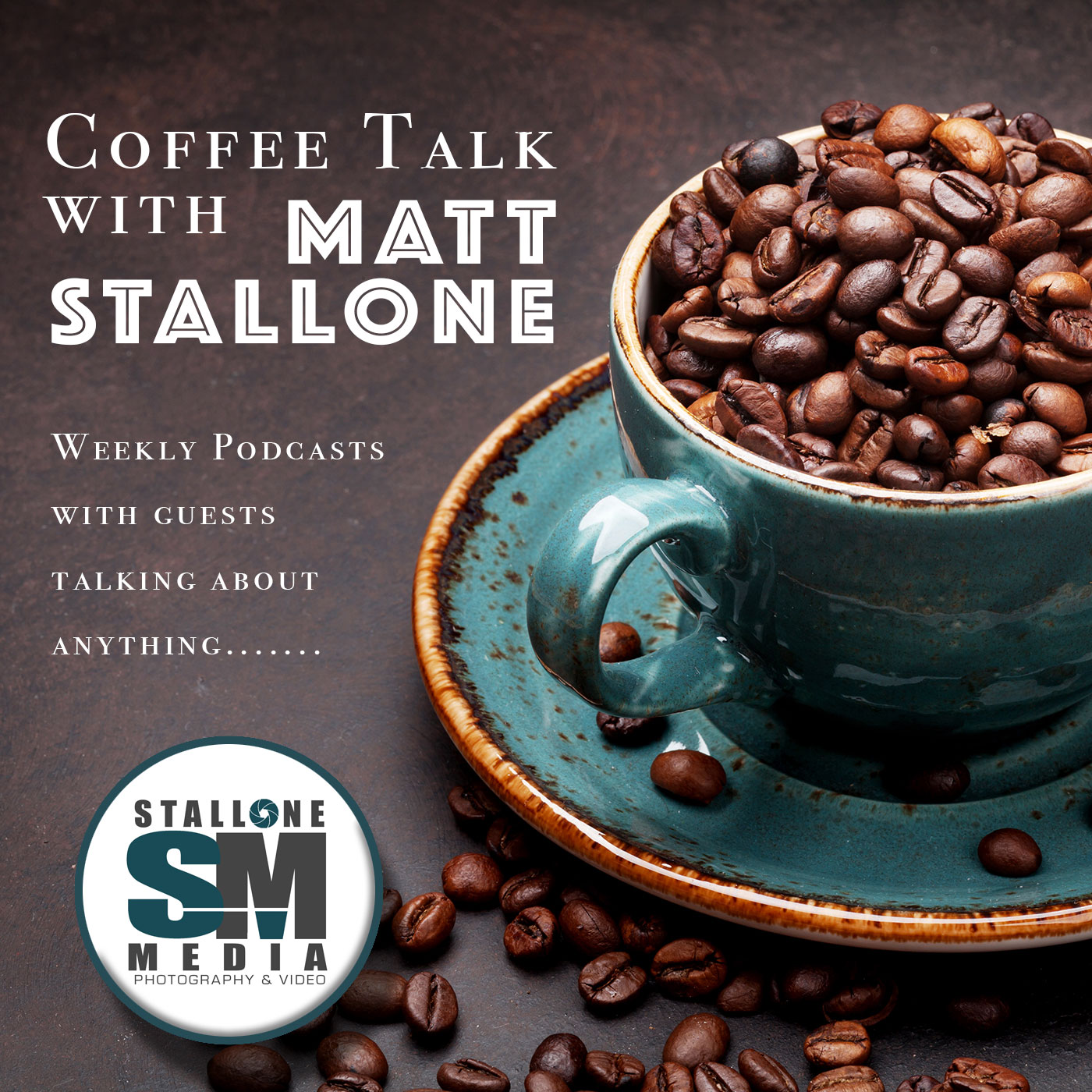 Coffee Talk With Stallone show art