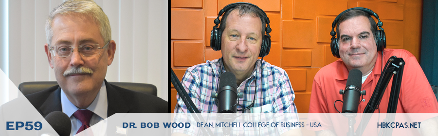 Dr. Bob Wood on the Playing Above the Line Podcast