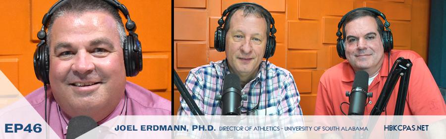 Joel Erdmann - Director of Athletics for University of South Alabama