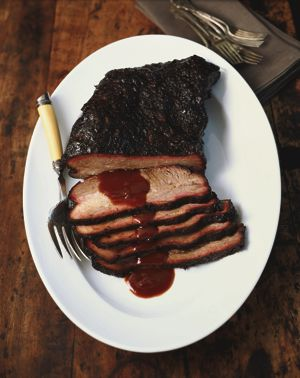 Recipes of the week: The bigger cuts - Barbecue Beef Brisket and Planked Leg of Lamb