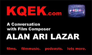 KQEK.com -- Interview with film composer / Lalela founder Alan Ari Lazar