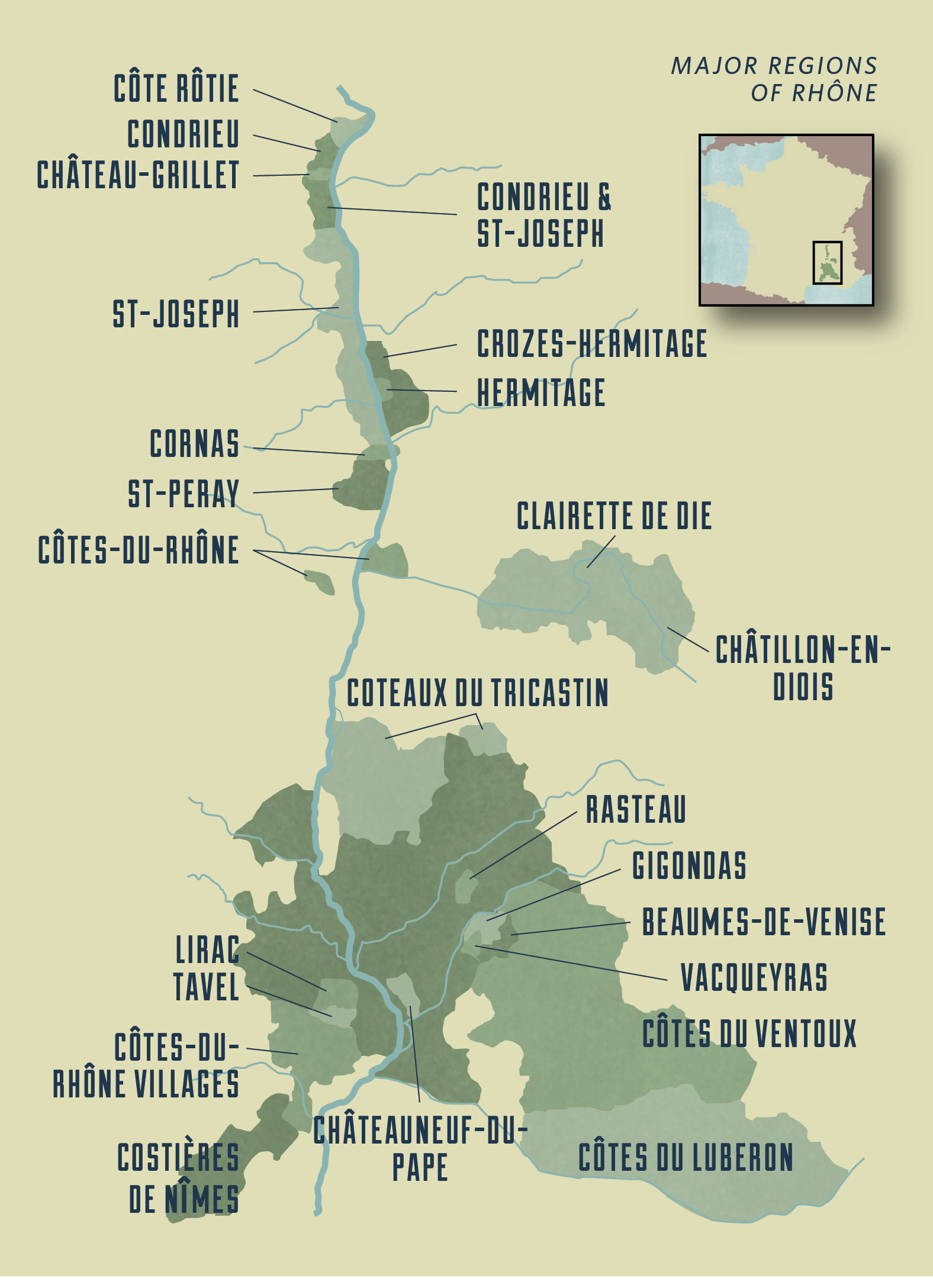 (C)Wine For Normal People Book map