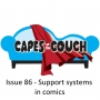 Artwork for Issue 86 - Support systems in comics