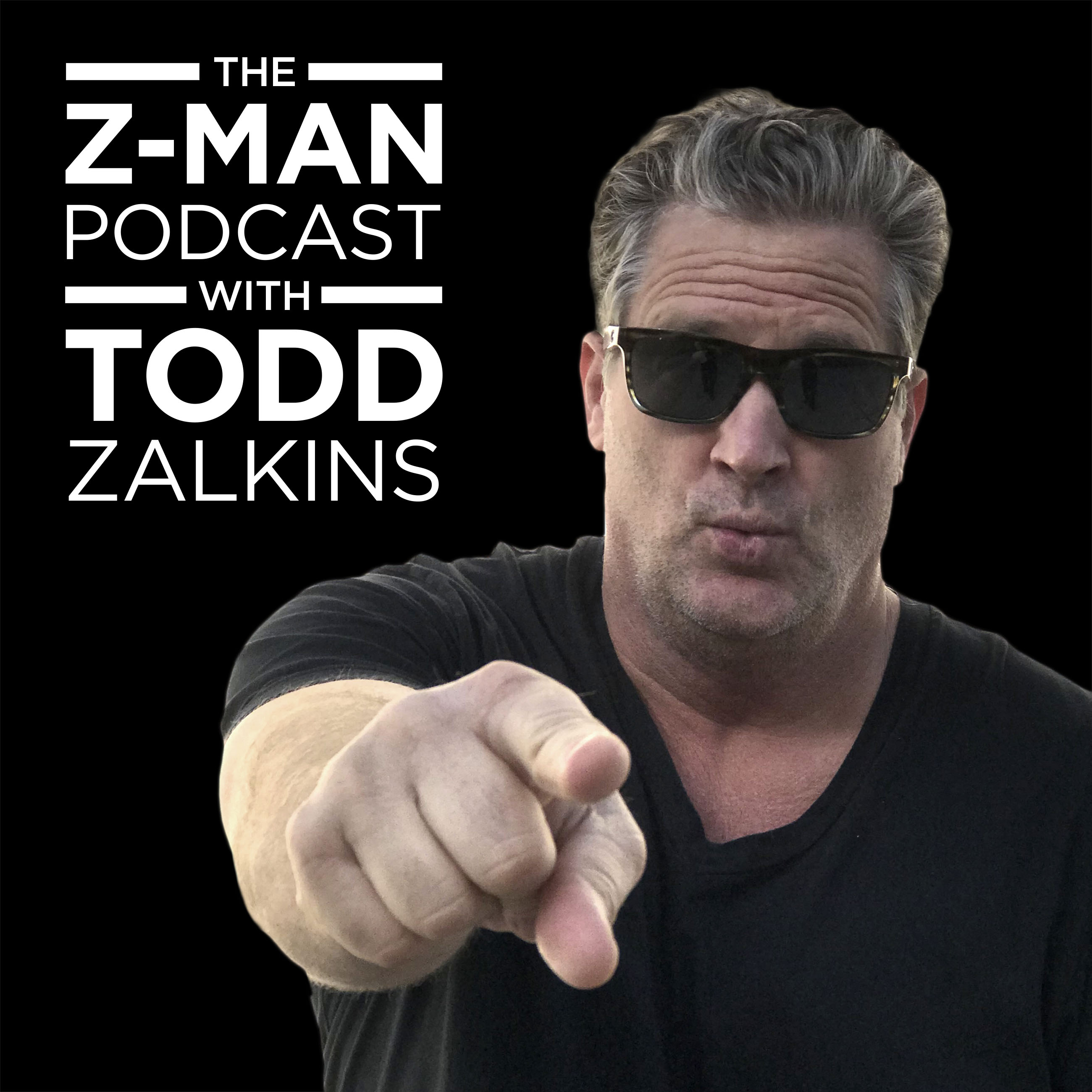 The Z-Man podcast with Todd Zalkins show art