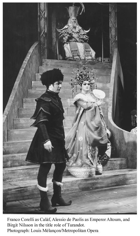Turandot from La Scala, 1964