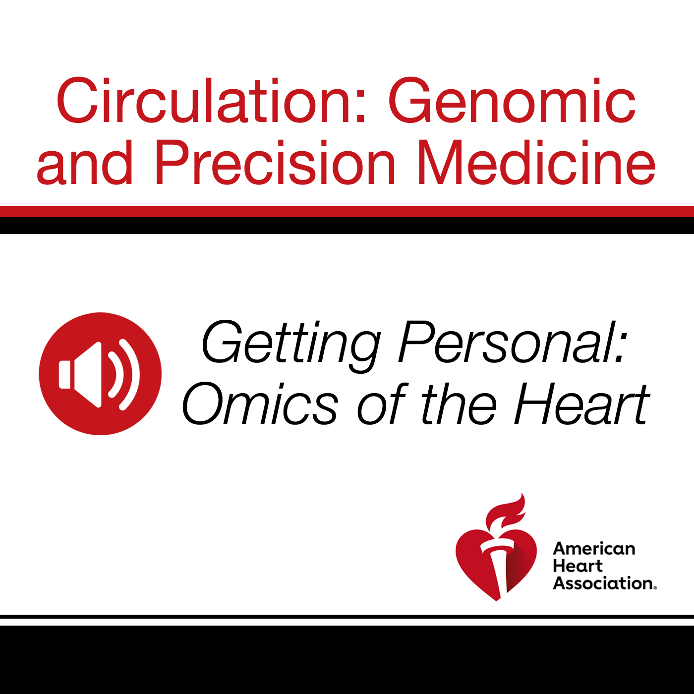 Getting Personal: Omics of the Heart show art