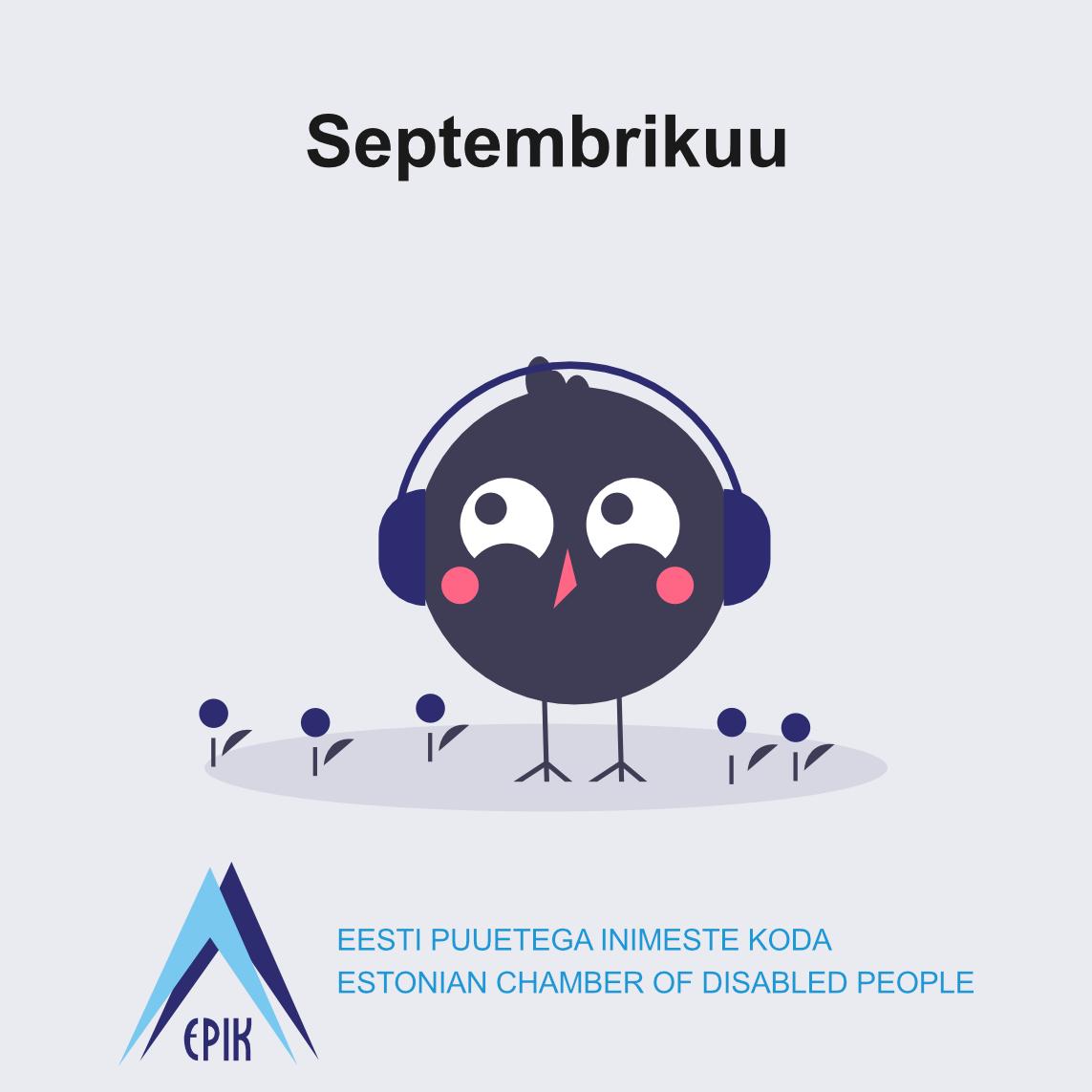 Septembrikuu Eesti Puuetega Inimeste Kojas – Paraolümpiamängud