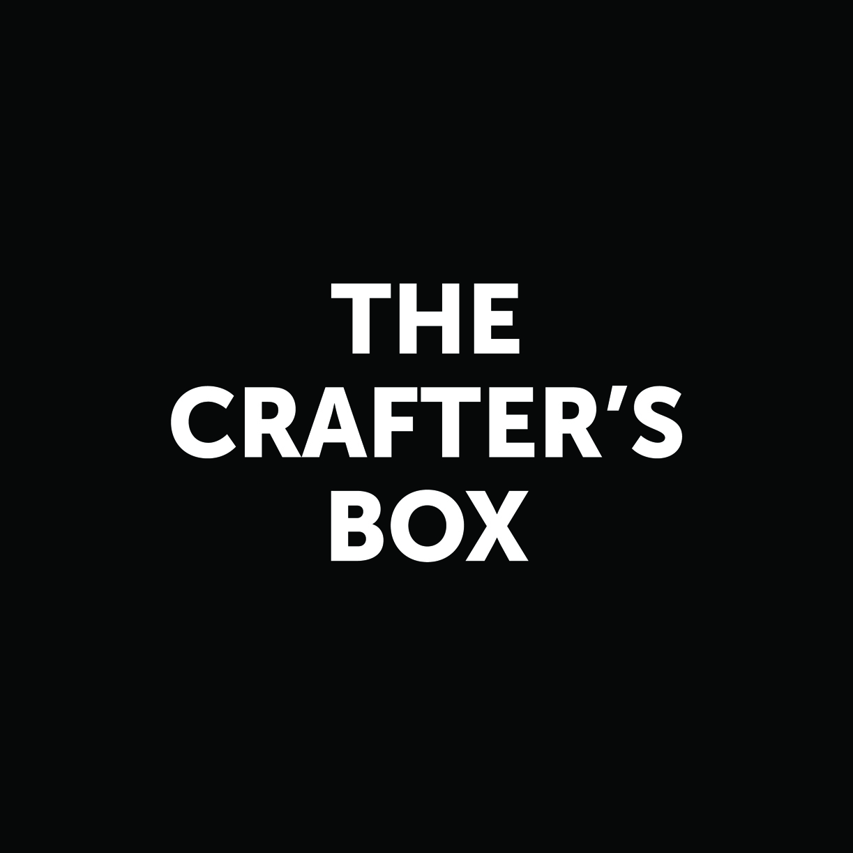 The Crafter's Box Podcast show art