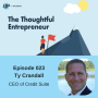 Artwork for EP 023 Learning about Business Credit with Ty Crandall