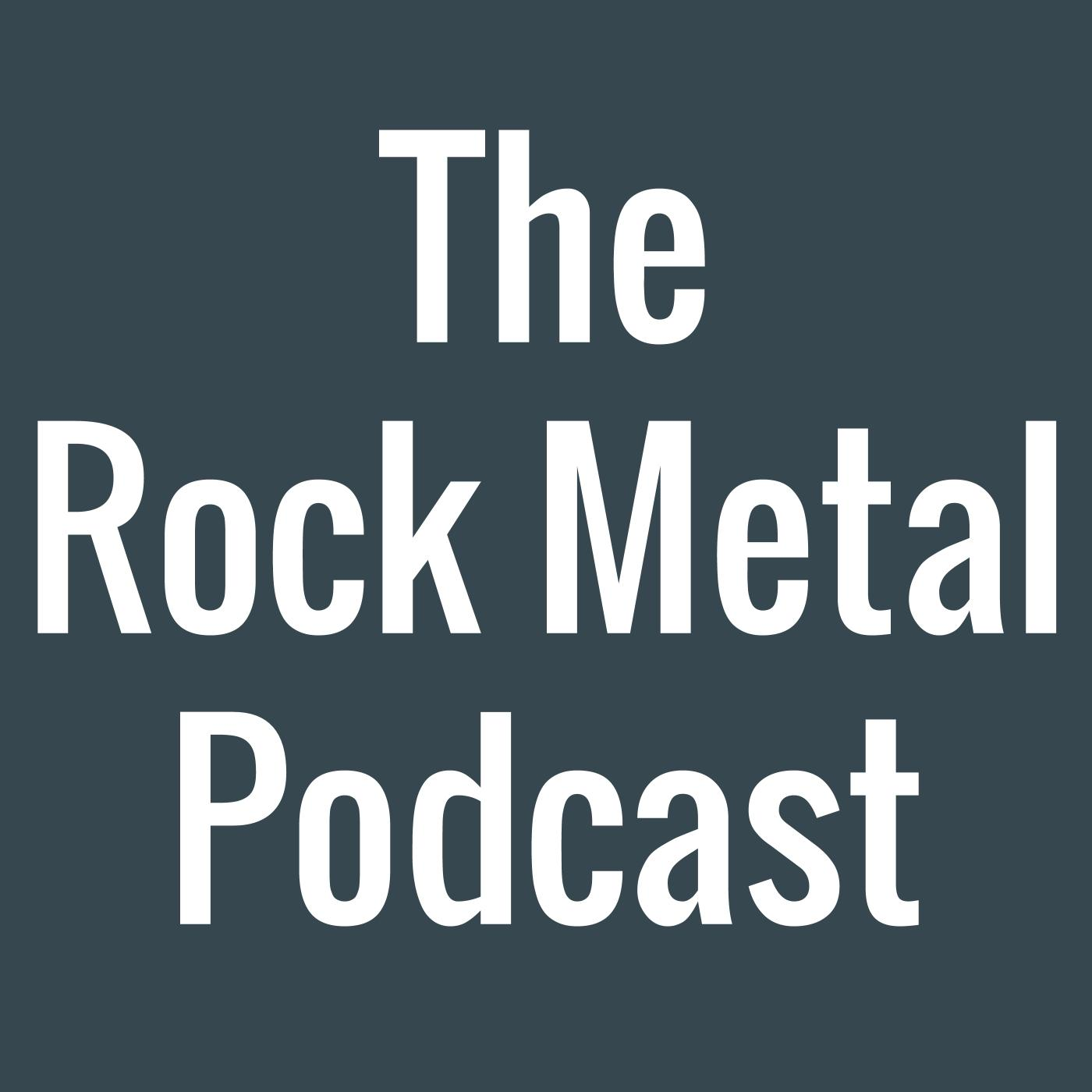 The Rock Metal Podcast show art