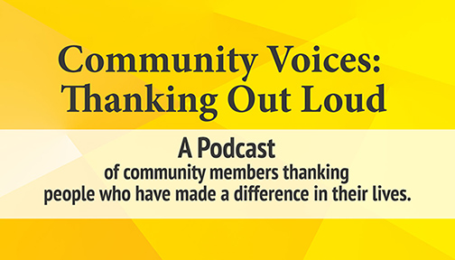 Thanking Out Loud: Community