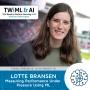 Artwork for Measuring Performance Under Pressure Using ML with Lotte Bransen - TWIML Talk #296