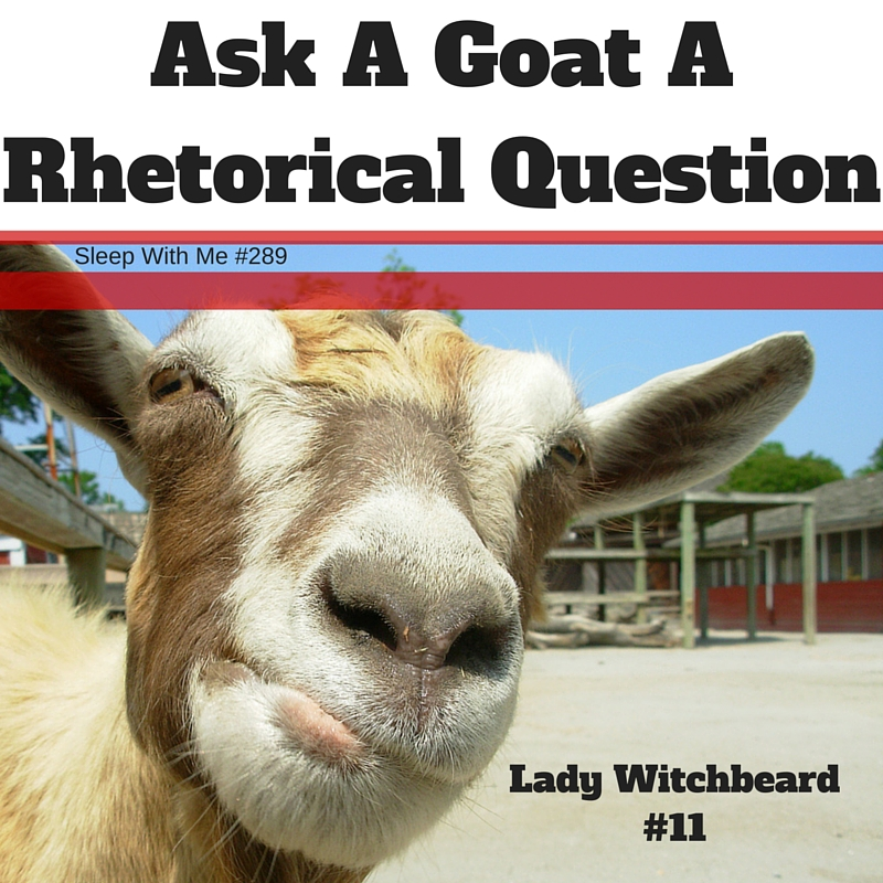 Would You Ask a Goat a Rhetorical Question? | Lady Witchbeard Ep 11 | Sleep With Me #289