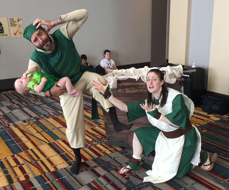 The Earth Kindom Cabbage Vendors at ConnectiCon XV 2017