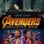 Artwork for Week 69: Quiet Avengers (Avengers - Infinity War, A Quiet Place)