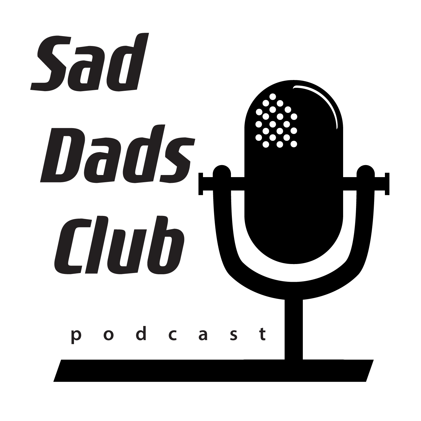 Sad Dads Club Podcast show art
