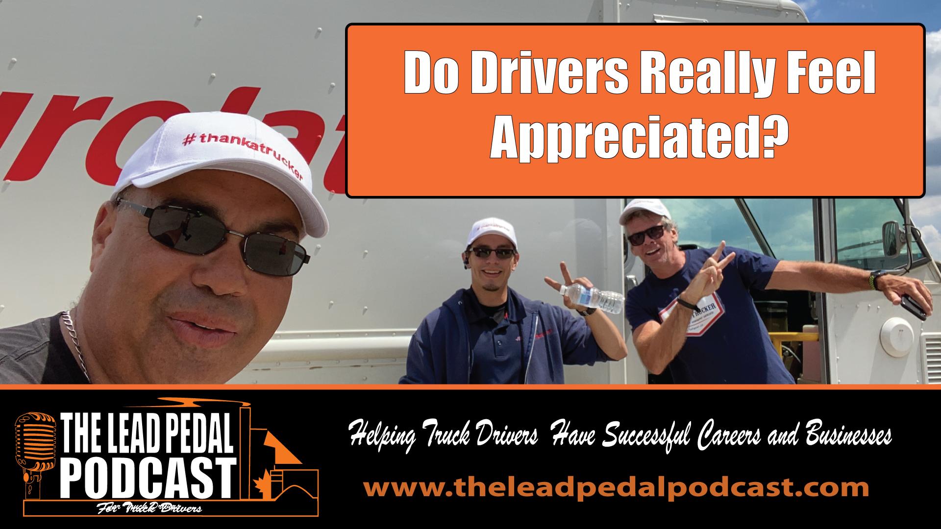 Appreciating Drivers