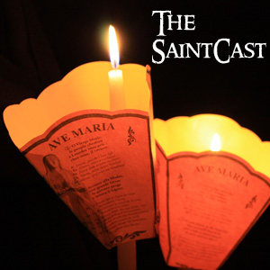 "SaintCast #110, ""I am the Immaculate Conception,"" soundseeing at the grotto at Lourdes, audio feedback +1.312.235.2278"