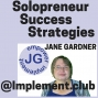 Artwork for 024 Solopreneur Success Strategies - Jack or Jill of All Trades-Business Numbers