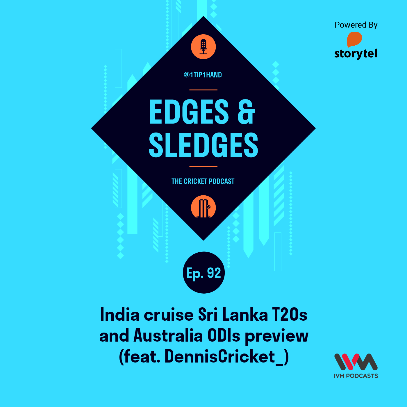 Ep. 92: India cruise Sri Lanka T20s and Australia ODIs preview (feat. DennisCricket_)