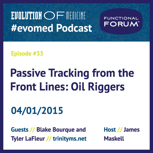 Passive Tracking from the Front Lines: Oil Riggers