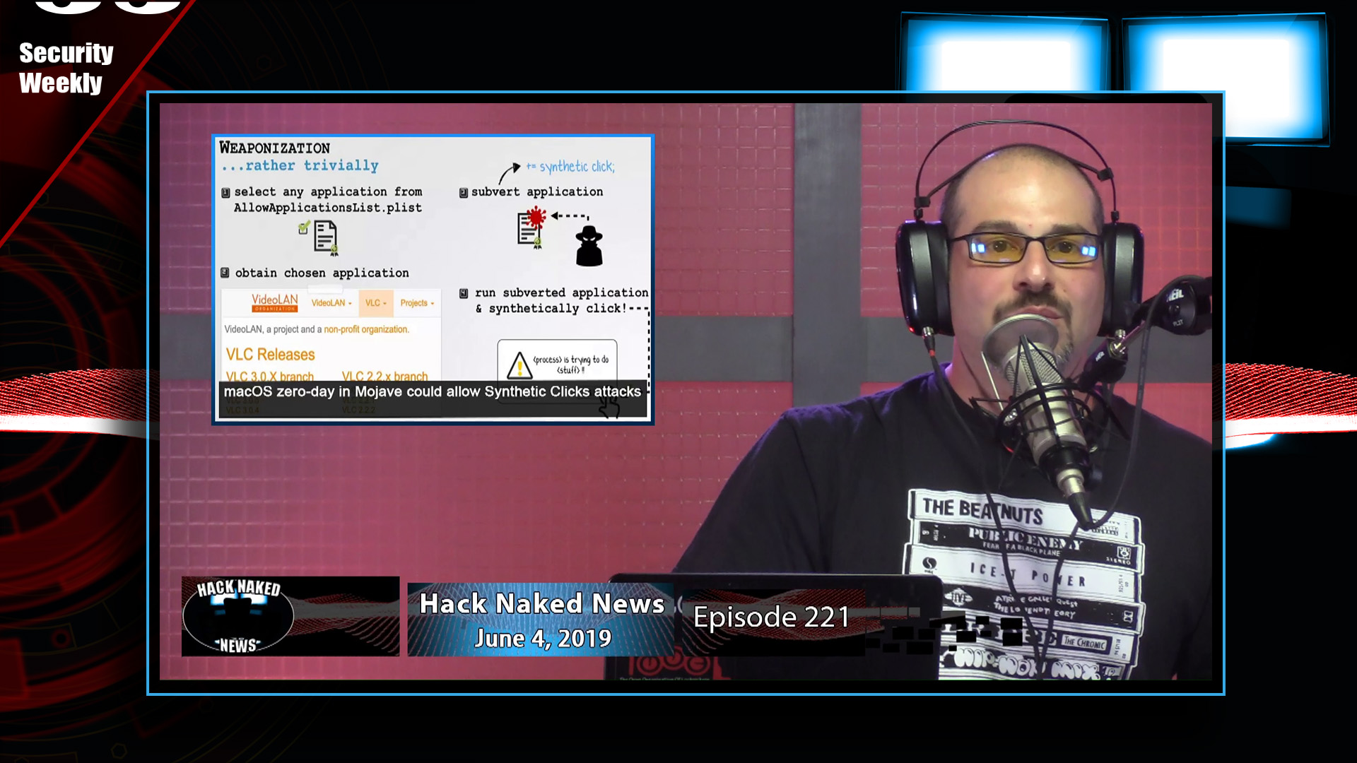 Artwork for Weather Channel, Shopify, & SAC - Hack Naked News #221