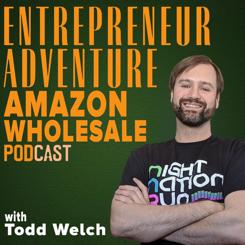 Entrepreneur Adventure Amazon Wholesale Online Business Podcast show art