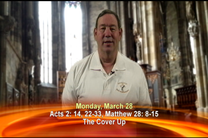 Artwork for Monday , March 28th Today's Topic: The cover up