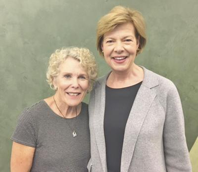 Diane Whitcraft and Sen Tammy Baldwin