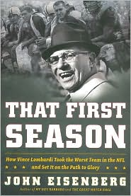 Vince Lombardi's first year with the Green Bay Packers