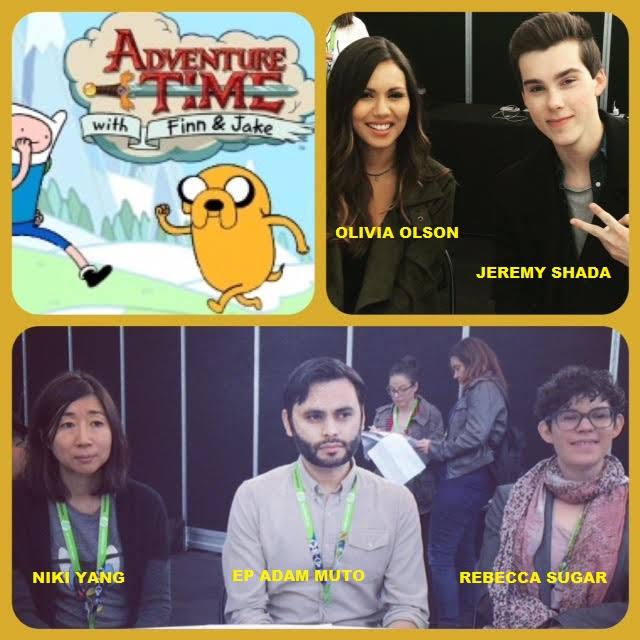 Episode 649 - NYCC: Adventure Time w/ Jeremy Shada/Olivia Olson/Niki Yang/Ep Adam Muto/Rebecca Sugar!