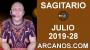 Artwork for HOROSCOPO SAGITARIO - Semana 2019-28 Del 7 al 13 de julio de 2019 - ARCANOS.COM