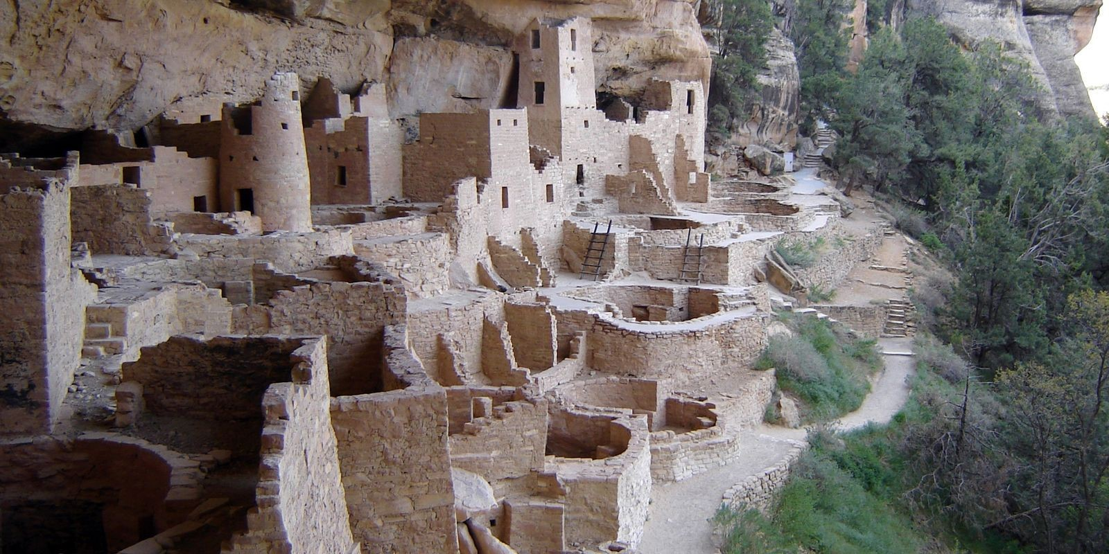 Mesa Verde Cliff Palace Modern Day