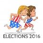 Artwork for Trump V. Clinton: The Shocker