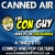 Canned Air #356 The Con Guys show art
