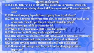 Ask Dr. Doreen - August 14th, 2013