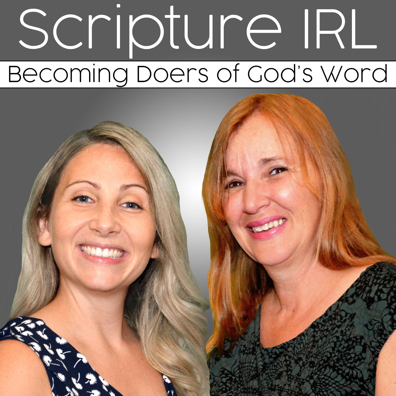 Scripture IRL - Christian Bible Study Podcast show art