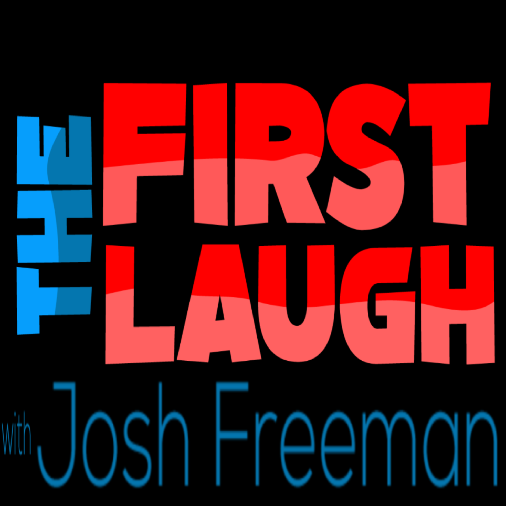 The First Laugh show art