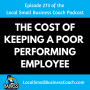 Artwork for The Cost of Keeping Poor Performing Employees