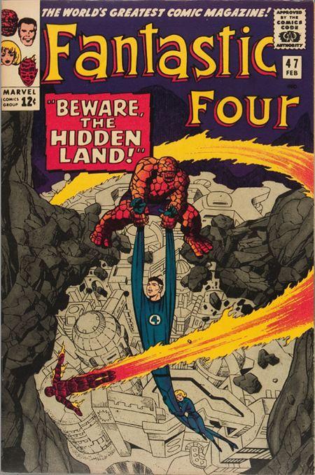 Episode 53: Fantastic Four #47 - Beware The Hidden Land