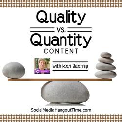 32 - Quality versus Quantity Content with Keri Jaenig