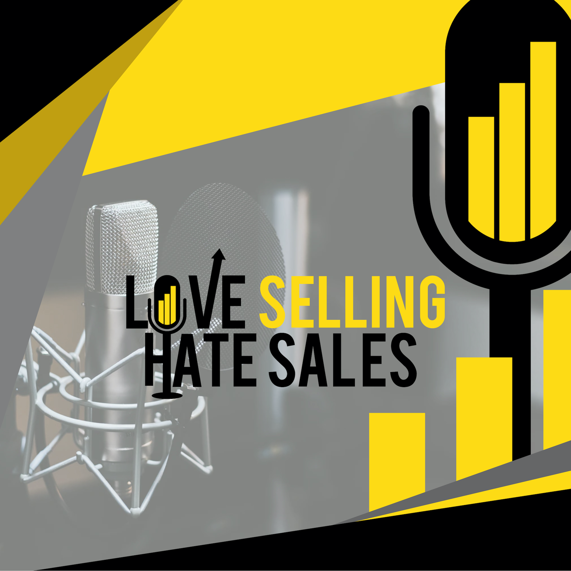 Artwork for Love Selling Hate Sales with Kyle Hamer