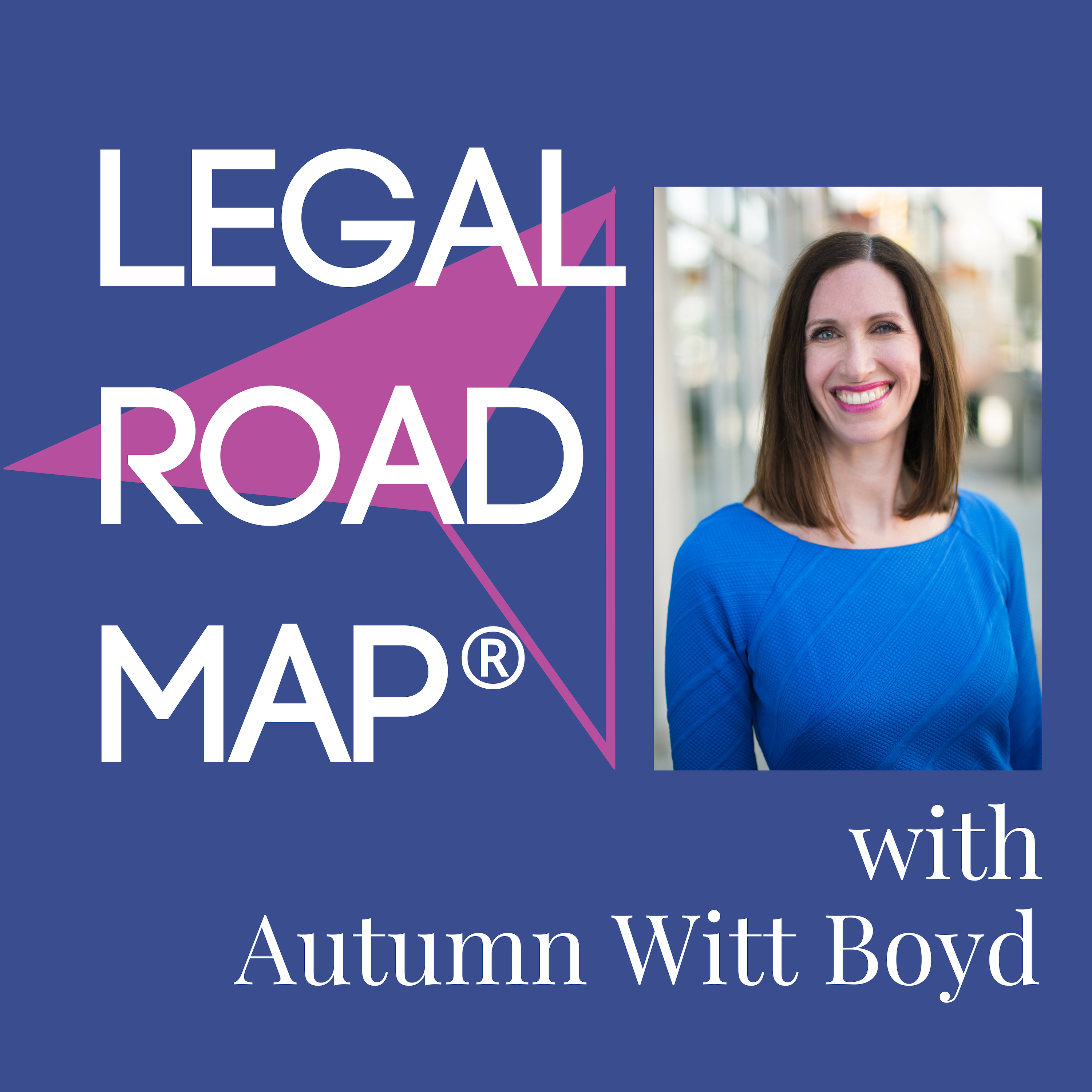 Legal Road Map®: copyright, trademark and business law info for online entrepreneurs show art