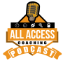 Artwork for All Access Coaching Podcast S01E13 How the Wing T Puts Defenders in Conflict