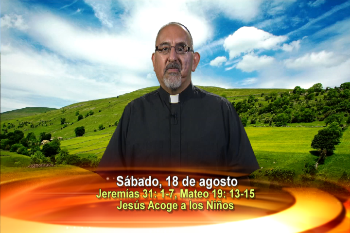 Artwork for Dios te Habla con Fr. Roberto Flores, SVD;  Tema el hoy: Jesús acoge a los niños