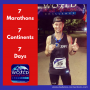 Artwork for 7 Marathons - 7 Days - 7 Continents: Eric Tozer's Story