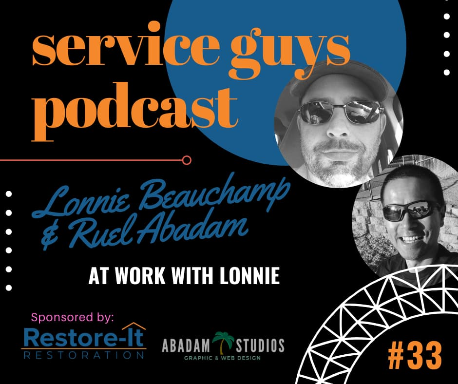 Service Guys Podcast, Ep.33 : At Work with Lonnie