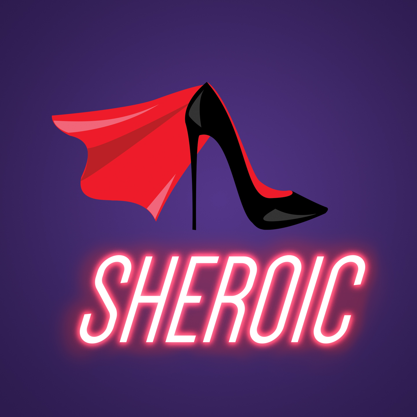 The Sheroic Podcast show art
