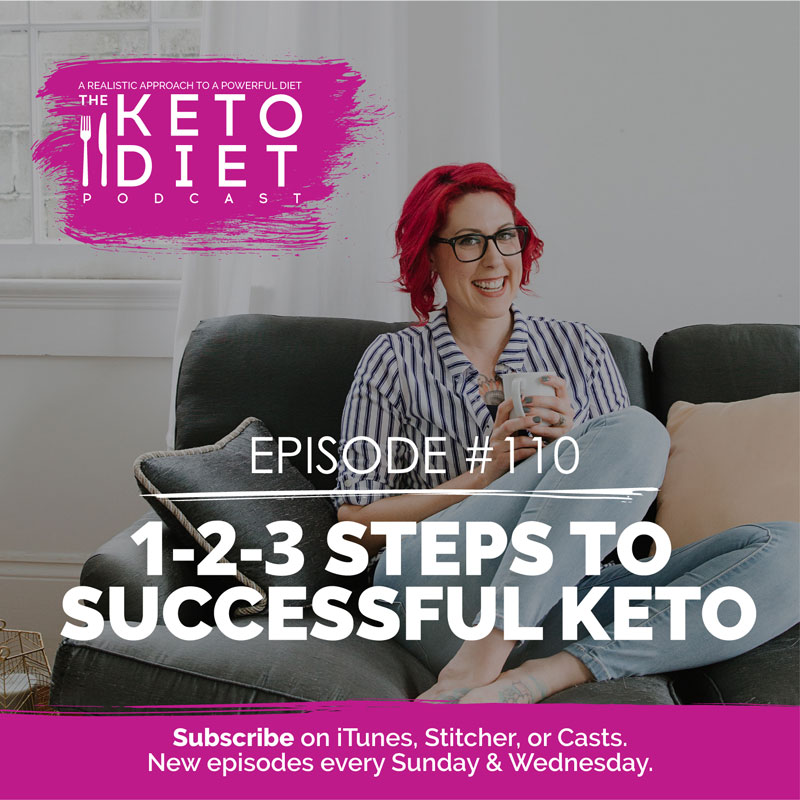 #110 1-2-3 Steps to Successful Keto with Kyndra Holley