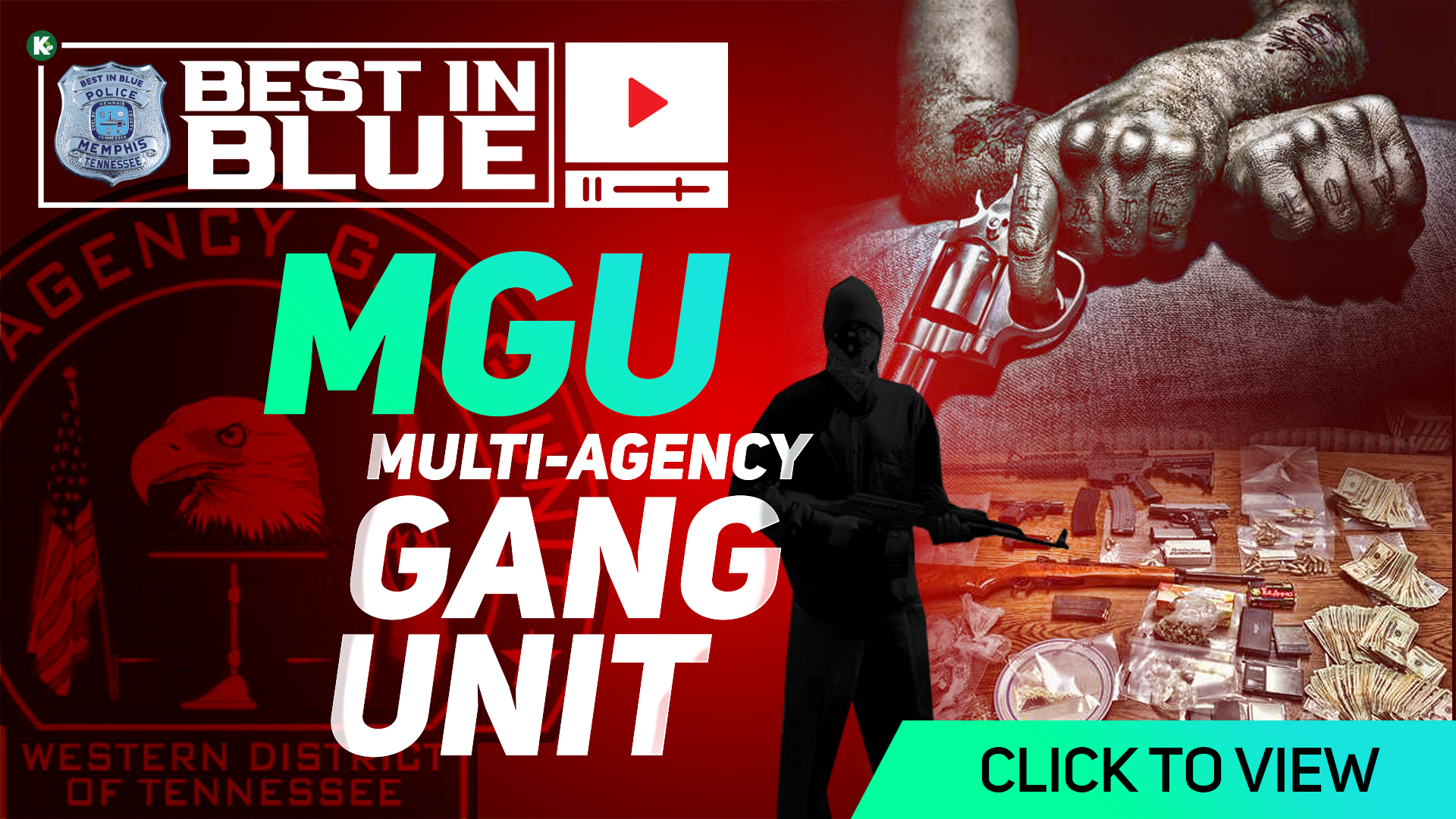 Artwork for BEST In BLUE TV - S1E8  | THE GANG PATROL: Multi-Agency Gang Unit (MGU)  | KUDZUKIAN